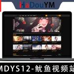 麻豆源码#MDYS12,苹果cmsV10_鱿鱼视频_二开苹果cms视频_图片_小说网站源码模板